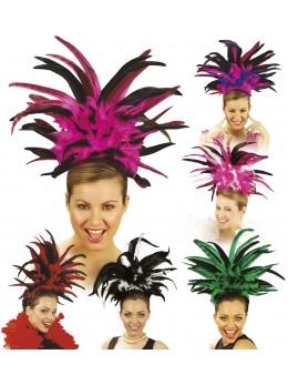 coiffe brésilienne à plumes