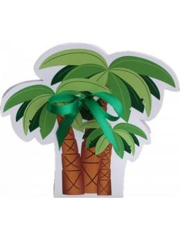 Contenant à dragées palmier