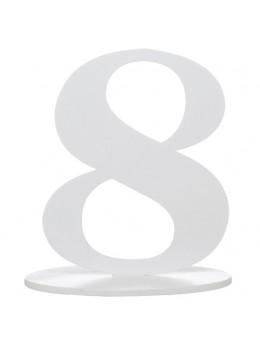 Marque table chiffre 8