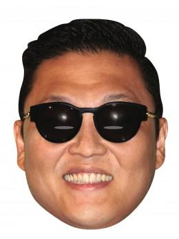 masque carton psy gangnam style