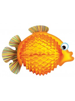 Poisson tropical orange 33cm