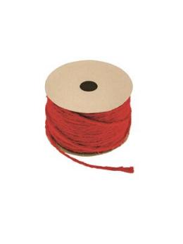 Corde naturelle rouge 1.5mmx20m