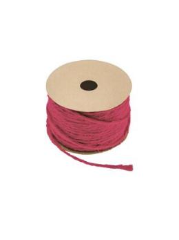 Corde naturelle fuchsia 1.5mmx20m