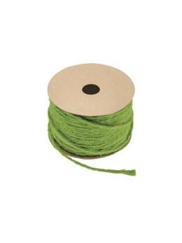 Corde naturelle vert anis 1.5mmx20m