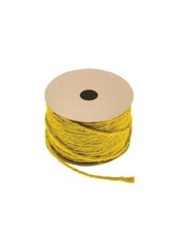 Corde naturelle jaune 1.5mmx20m