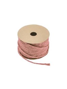 Corde naturelle rose pastel 1.5mmx20m