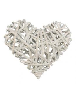 Coeur en rotin naturel 25cm