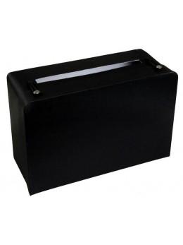 Urne tirelire valise noire