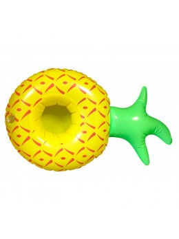 Porte verre gonflable ananas