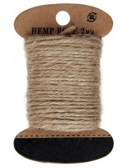 Cordelette coton naturelle 10m