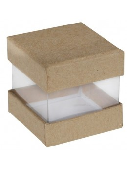 6 Boites cube kraft