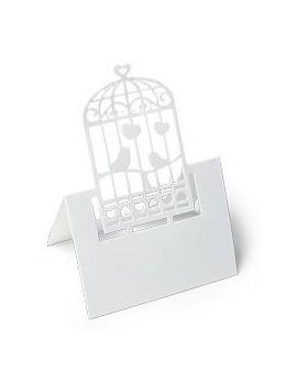 20 Marque place cage oiseau