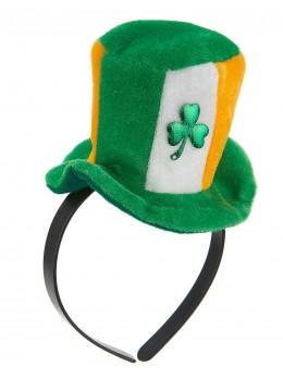 Serre tête mini chapeau Irlandais