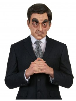 Masque humoristique en latex François Fillon