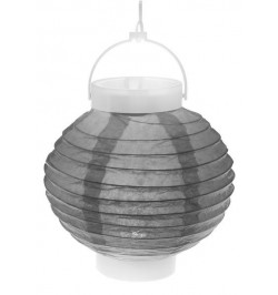 Lampion lumineux gris