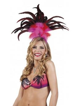 coiffe de carnaval brésilien