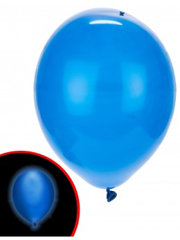 ballons led bleu