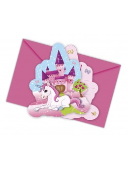 invitations licorne