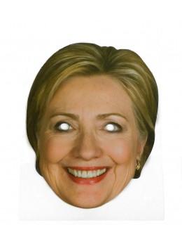 Masque carton Hillary Clinton