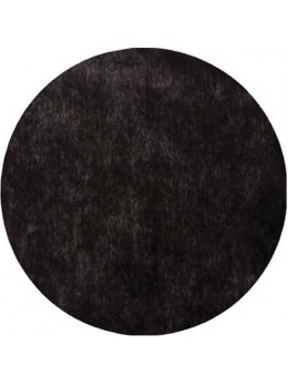 10 Sets de table rond noir