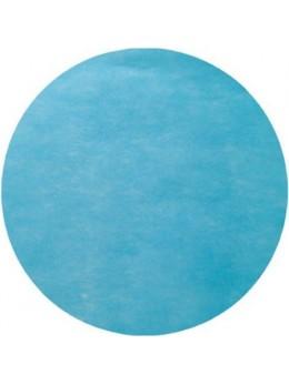 10 Sets de table rond turquoise