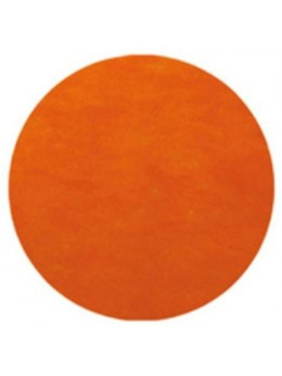 10 Sets de table rond orange