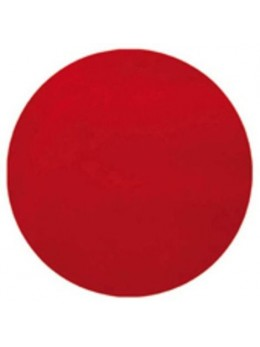 10 Sets de table rond rouge