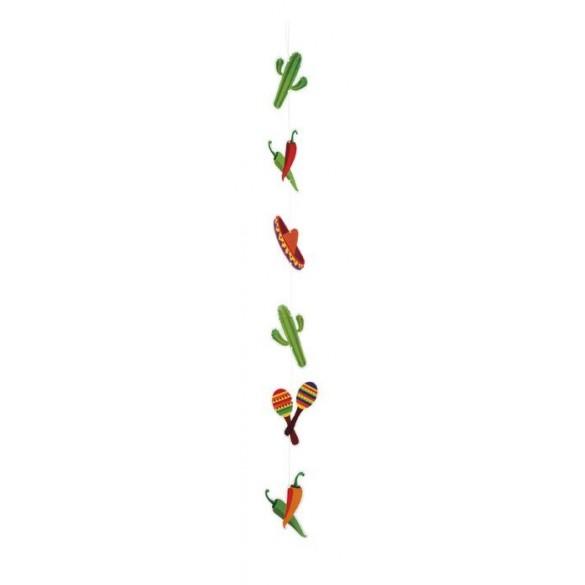 Guirlande verticale cactus et piment