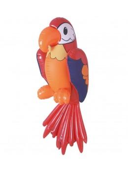 Déco perroquet gonflable 60cm