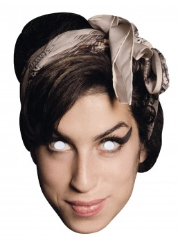 Masque carton Amy Winehouse