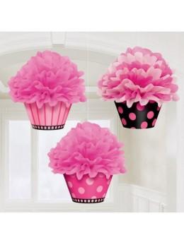 3 fleurs de soie cup cake