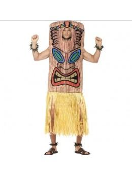 Déguisement hawaien homme tiki