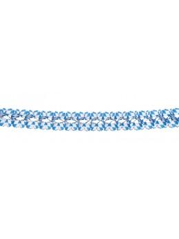 Guirlande party bleu et blanche