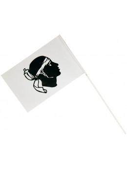 25 Drapeaux papier Corse 20cm par 30cm