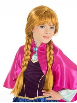 Perruque enfant princesse Anna