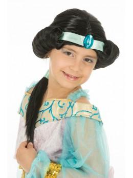 Perruque Orientale Sherazade enfant