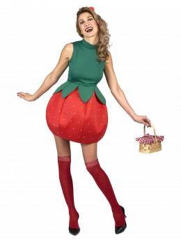 Déguisement robe fraise