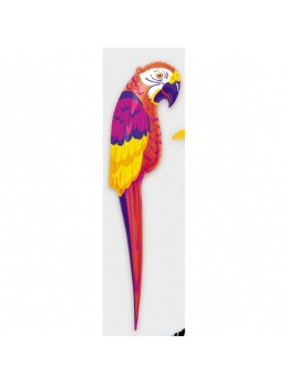 Perroquet gonflable hawai 120cm