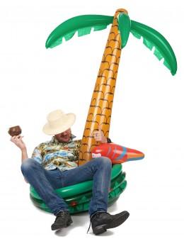 Palmier gonflable cooler perroquet 1.85m