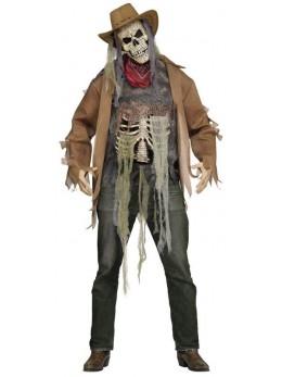 Déguisement cowboy wanted zombie
