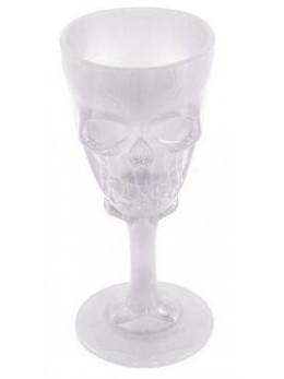 Calice tête de mort transparent