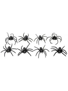 araignées noires 9cm