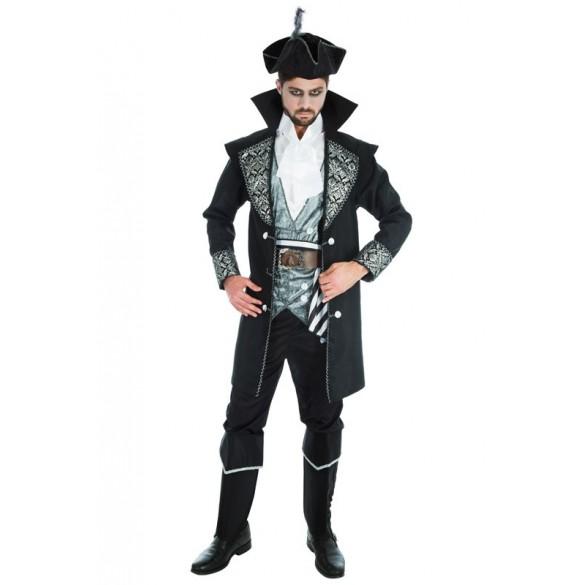 déguisement pirate noir deluxe