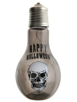 Lampe tête de mort lumineuse