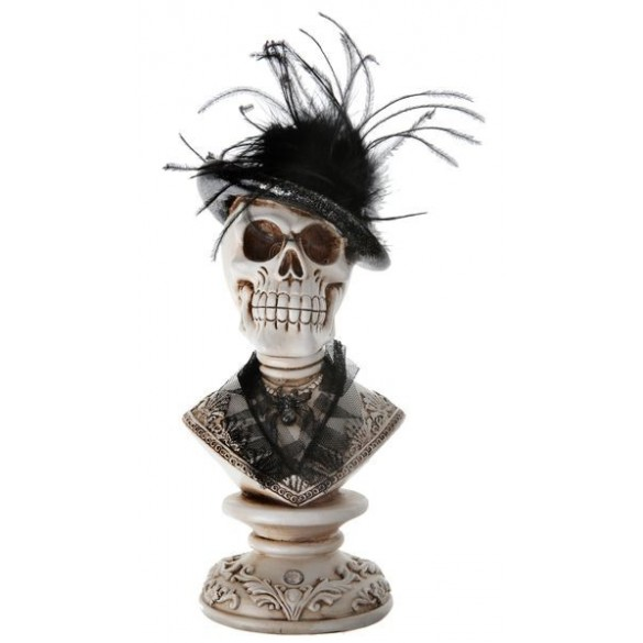 Lampe Lumineuse Tete De Mort Decoration De Table Halloween Squelette