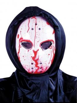 Masque hockey avec pompe de sang