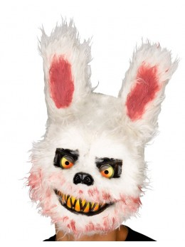 Masque lapin effrayant