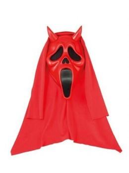 Masque scream devil latex