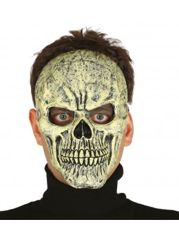 Masque visage squelette