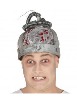 Chapeau zombie électocuté